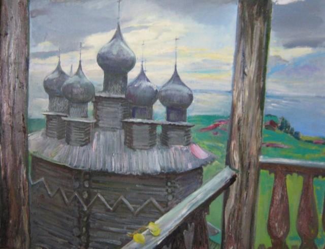 Титова. Часовня в Кижах