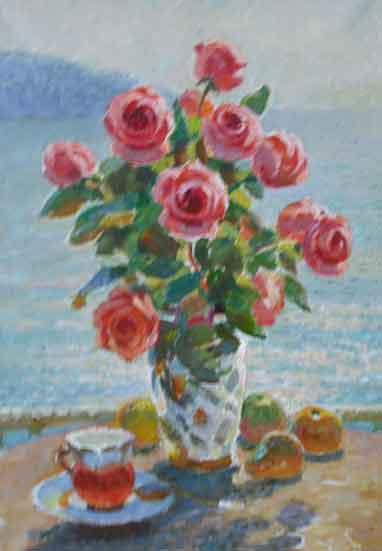 Солодовников. Розы