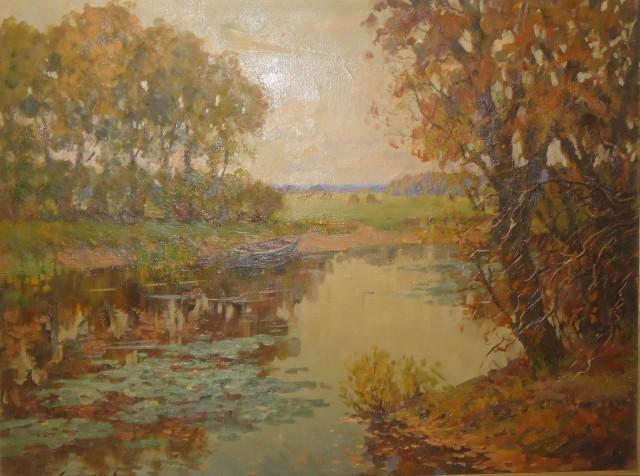 Литовченко. Осенний пейзаж
