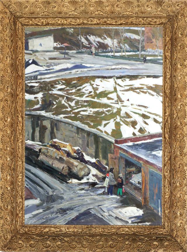 Шаталин. Последний снег